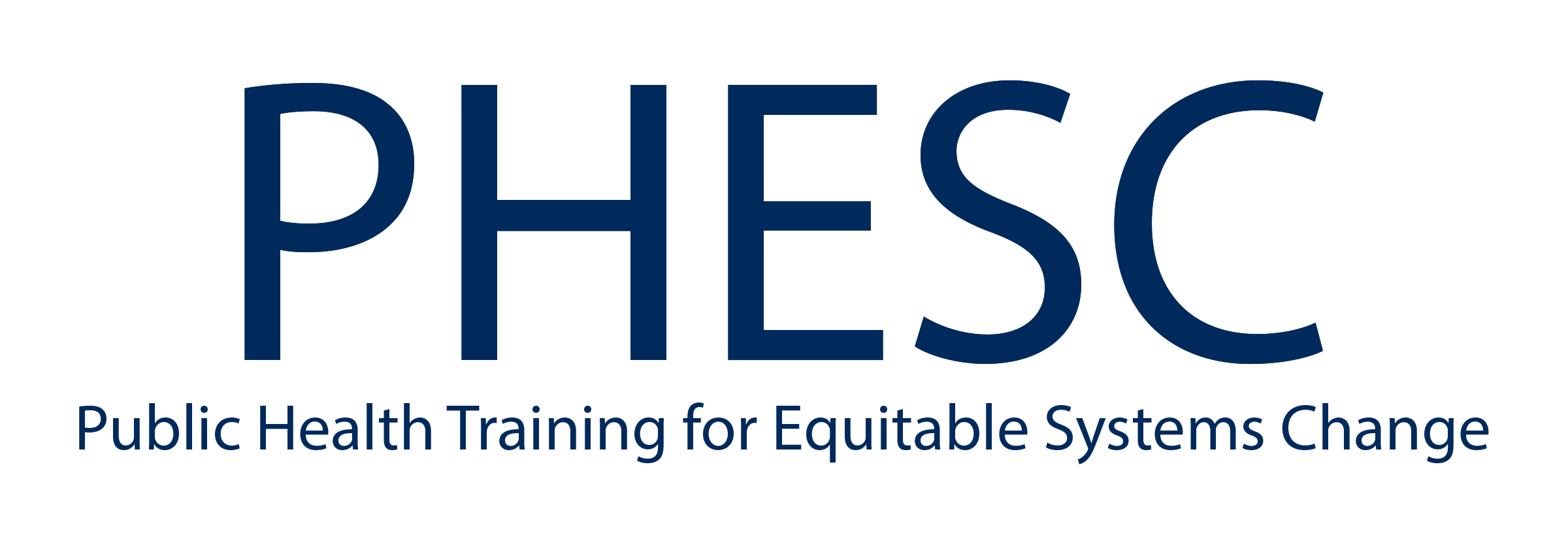 Public Health Training for Equitable Systems Change
